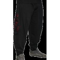 MNX BODYBUILDING COTTON PANTS, BLACK
